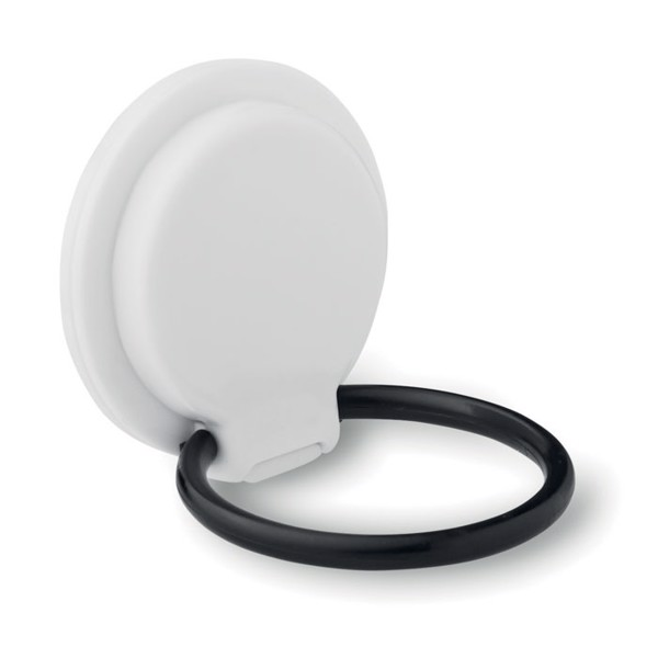 Phone holder on ring stand Dupi - White
