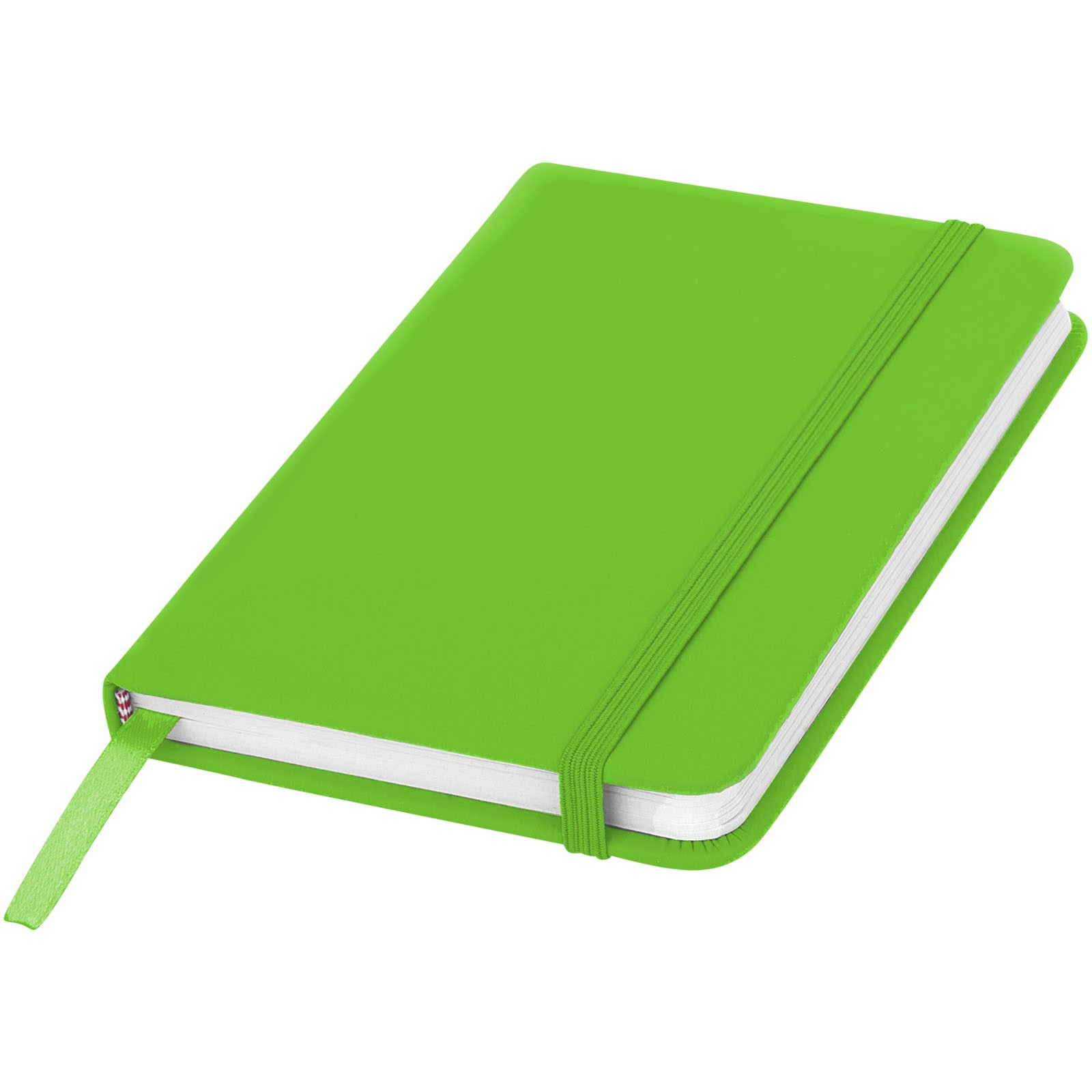 Zápisník s pevnou obálkou A6 Spectrum - Limetkově zelená