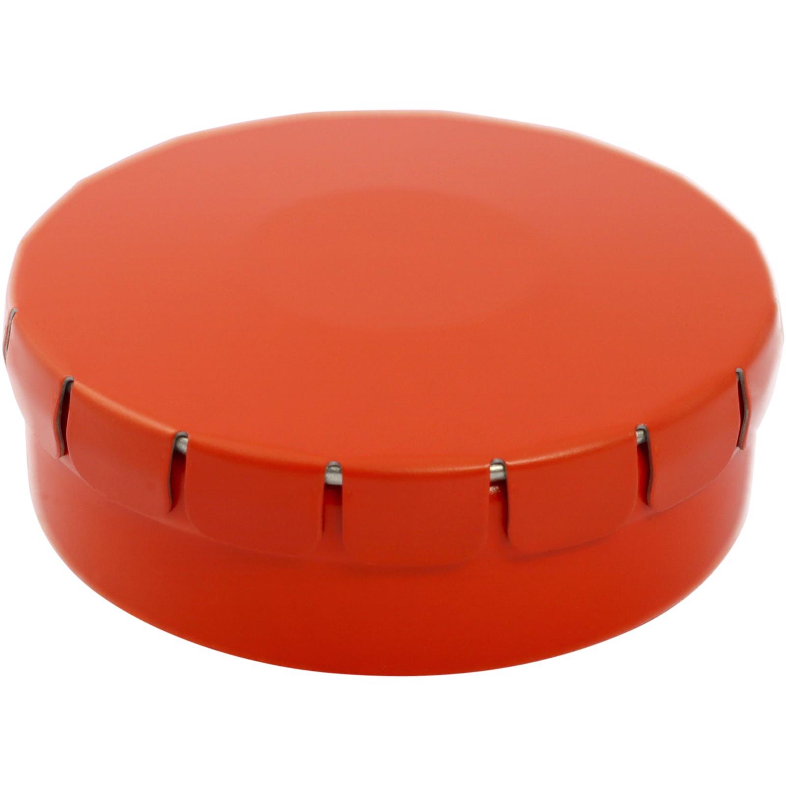 Clic clac jahodové bonbony ve tvaru srdíček - 0ranžová