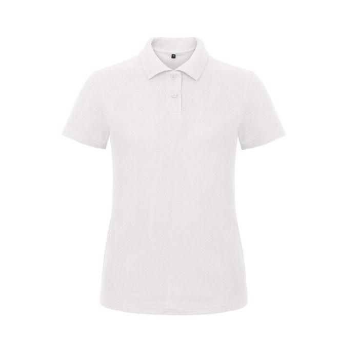 Női pólóing 180 g/m2 Pique Polo Id.001 Women Pwi11 - White / XS