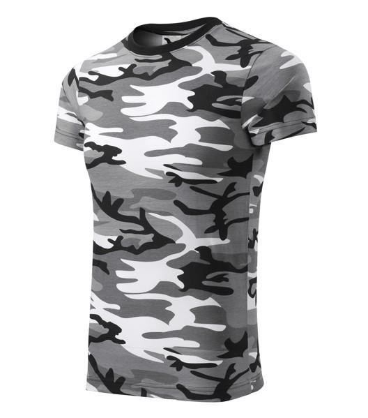 T-shirt unisex Malfini Camouflage - Camouflage Gray / XL