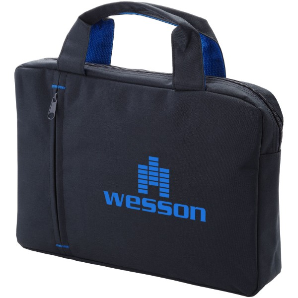 Konferenční taška Detroit - Charcoal / Světle modrá