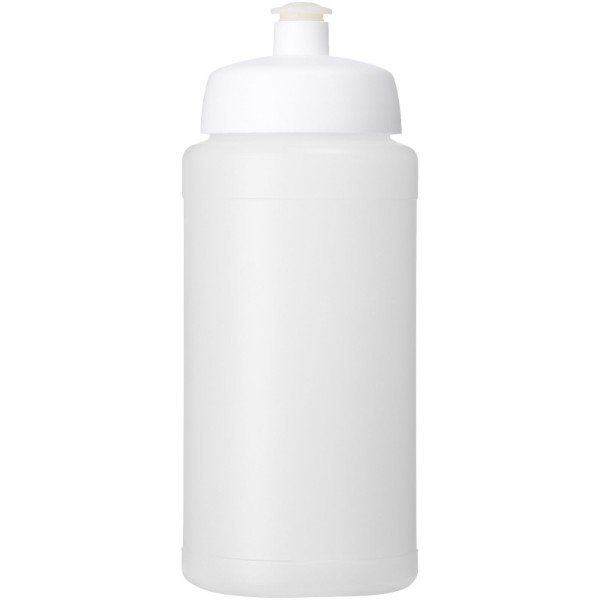 Baseline® Plus 500 ml bottle with sports lid - Transparent / White