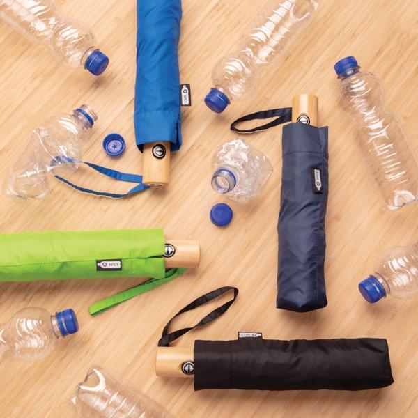 """21"""" automatický deštník z RPET - Modrá"""