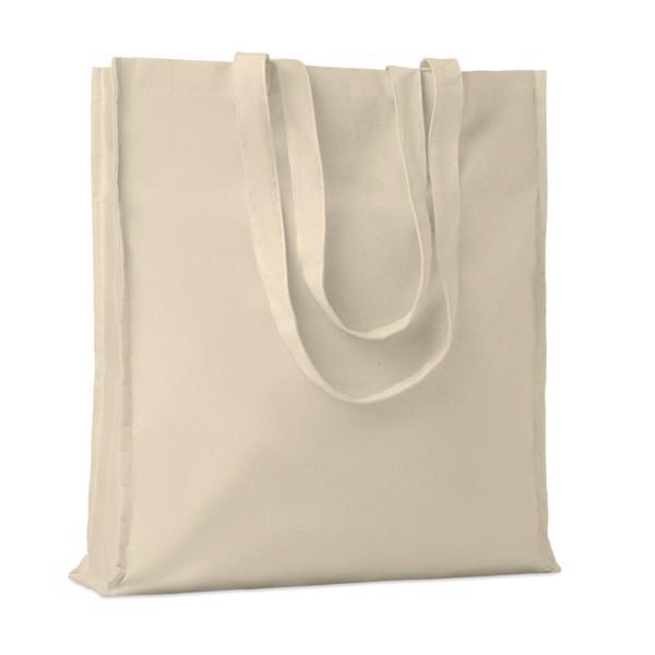 Cotton shopping bag w/ gussets Portobello