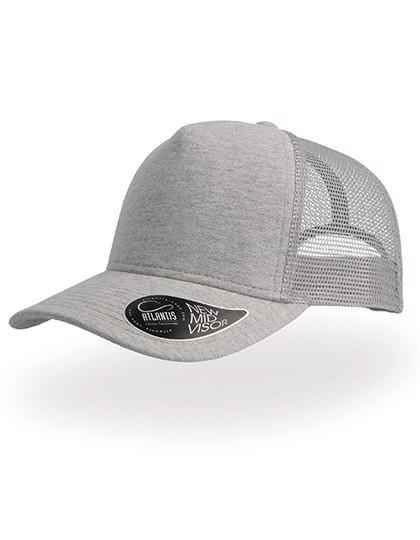 Rapper Jersey Cap - Light Grey / One Size