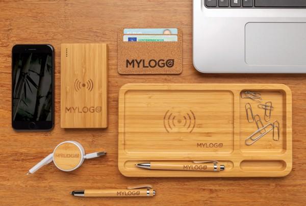 Set psacích potřeb z bambusu