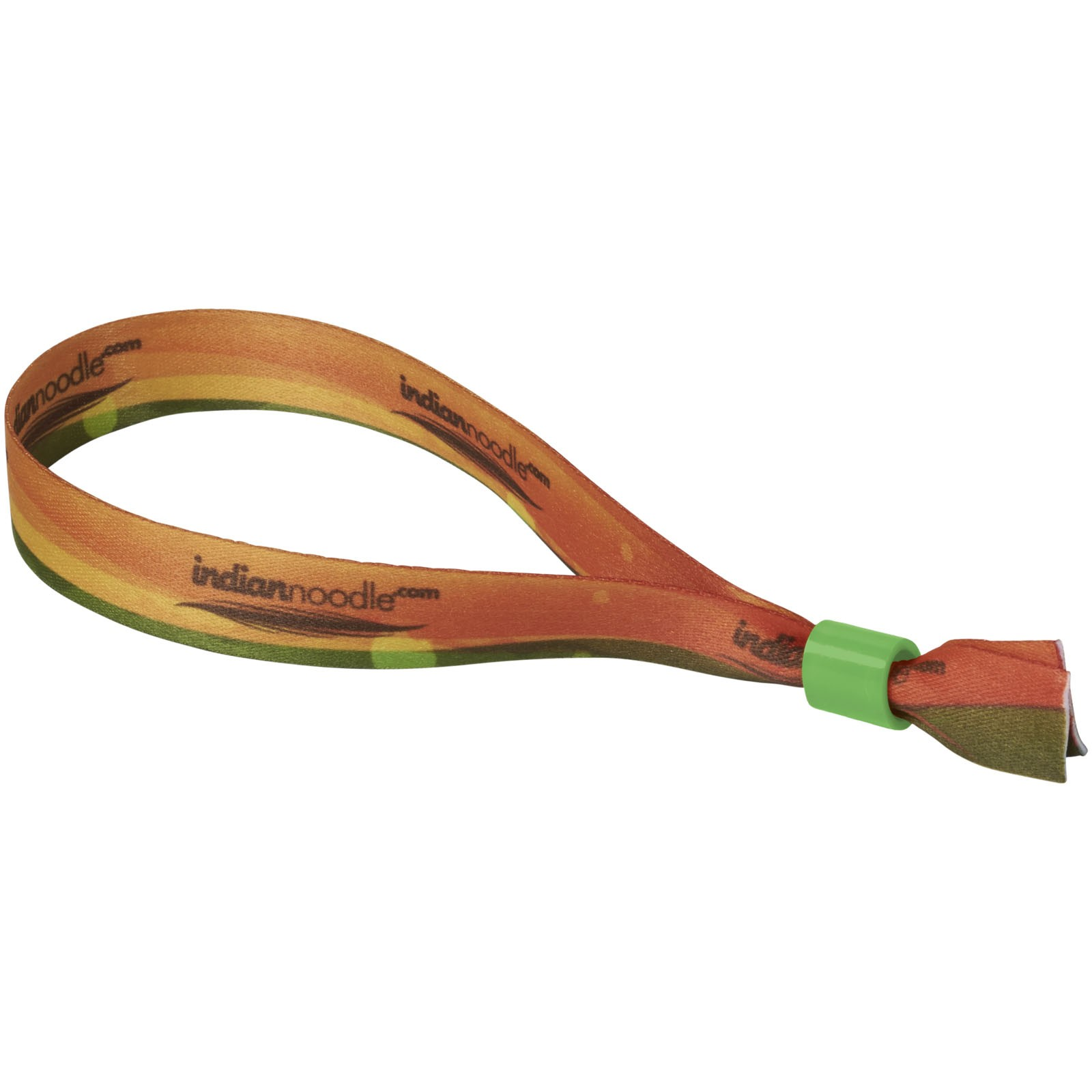 El sublimation festival bracelet double - Green