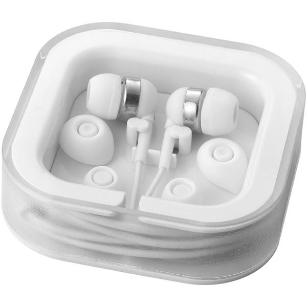 Sargas lightweight earbuds - White