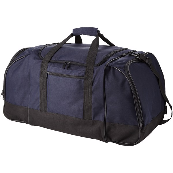 Nevada travel duffel bag - Navy / Solid black