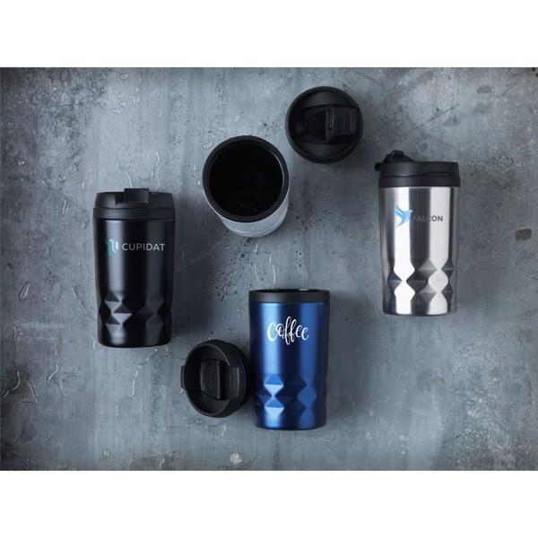 Graphic Mini Mug thermo cup - White