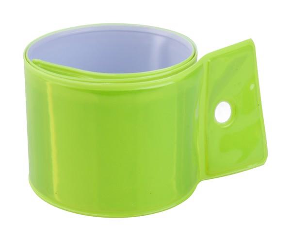 Reflektor-Schnappband Lumen - Neon-Gelb