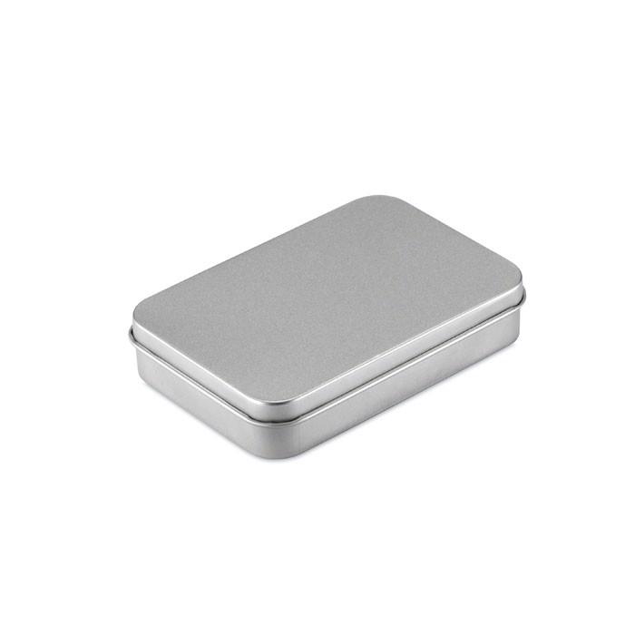 Karty do gry, metalowe pudełko Amigo