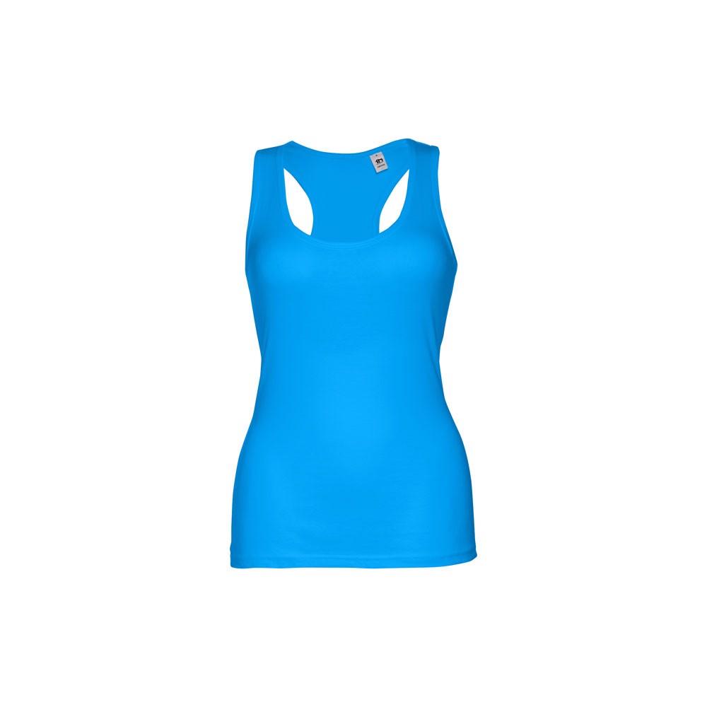 THC TIRANA. Women's tank top - Acqua Blue / L