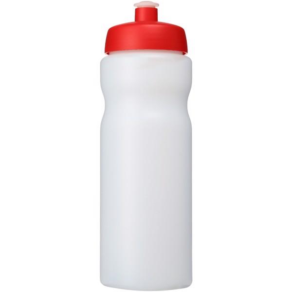 Baseline® Plus 650 ml sport bottle - Transparent / Red
