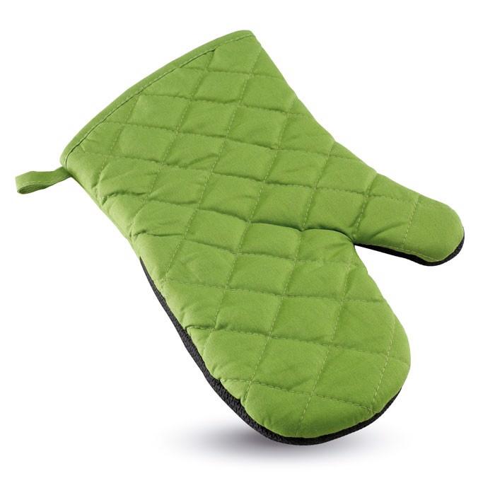 Pogumovaná kuchyňská rukavice Neokit - green