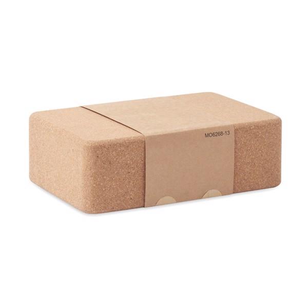 Cork yoga brick Tadasana