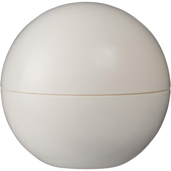 Hydra vanilla lip balm ball - White