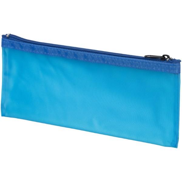 "Estuche translúcido ""Fabien"" - Transparente / Azul"