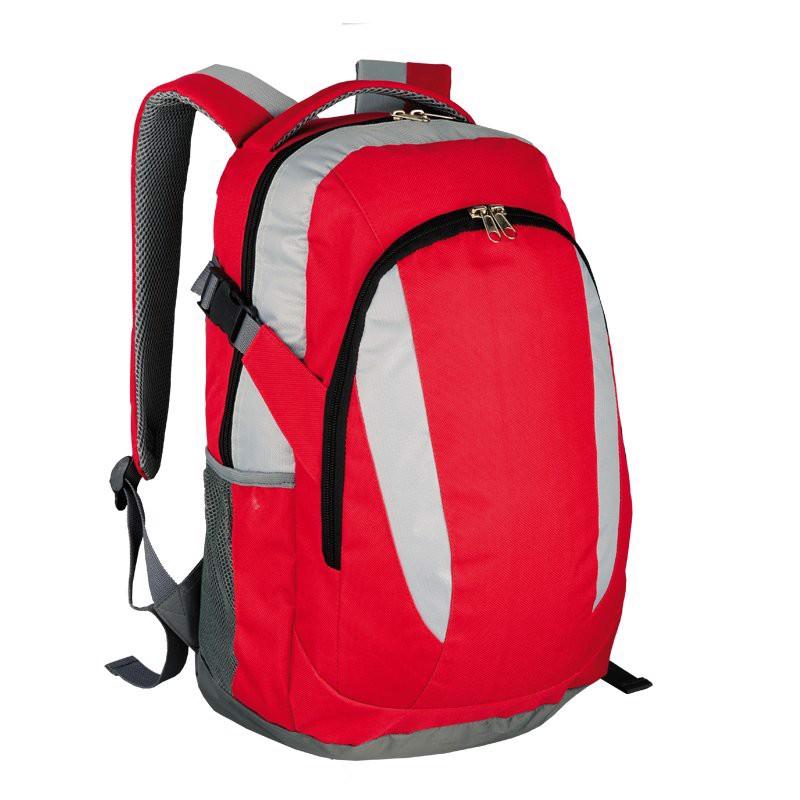 Plecak sportowy Visalis - Czerwony / Szary