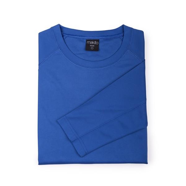 Camiseta Adulto Tecnik Maik - Azul / L