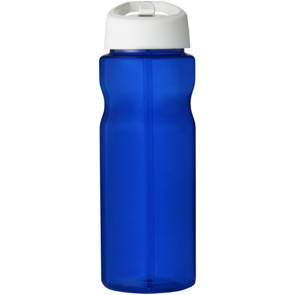 H2O Eco 650 ml spout lid sport bottle - Blue / White