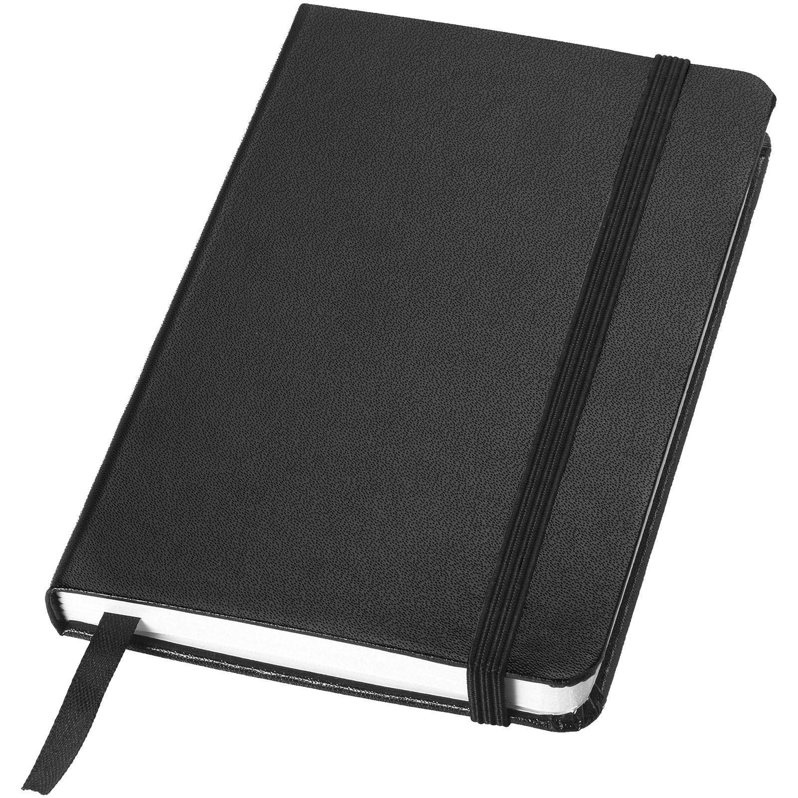 Kapesní poznámkový blok Classic A6 s pevnou obálkou - Černá