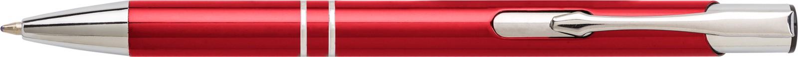 Aluminium ballpen - Red