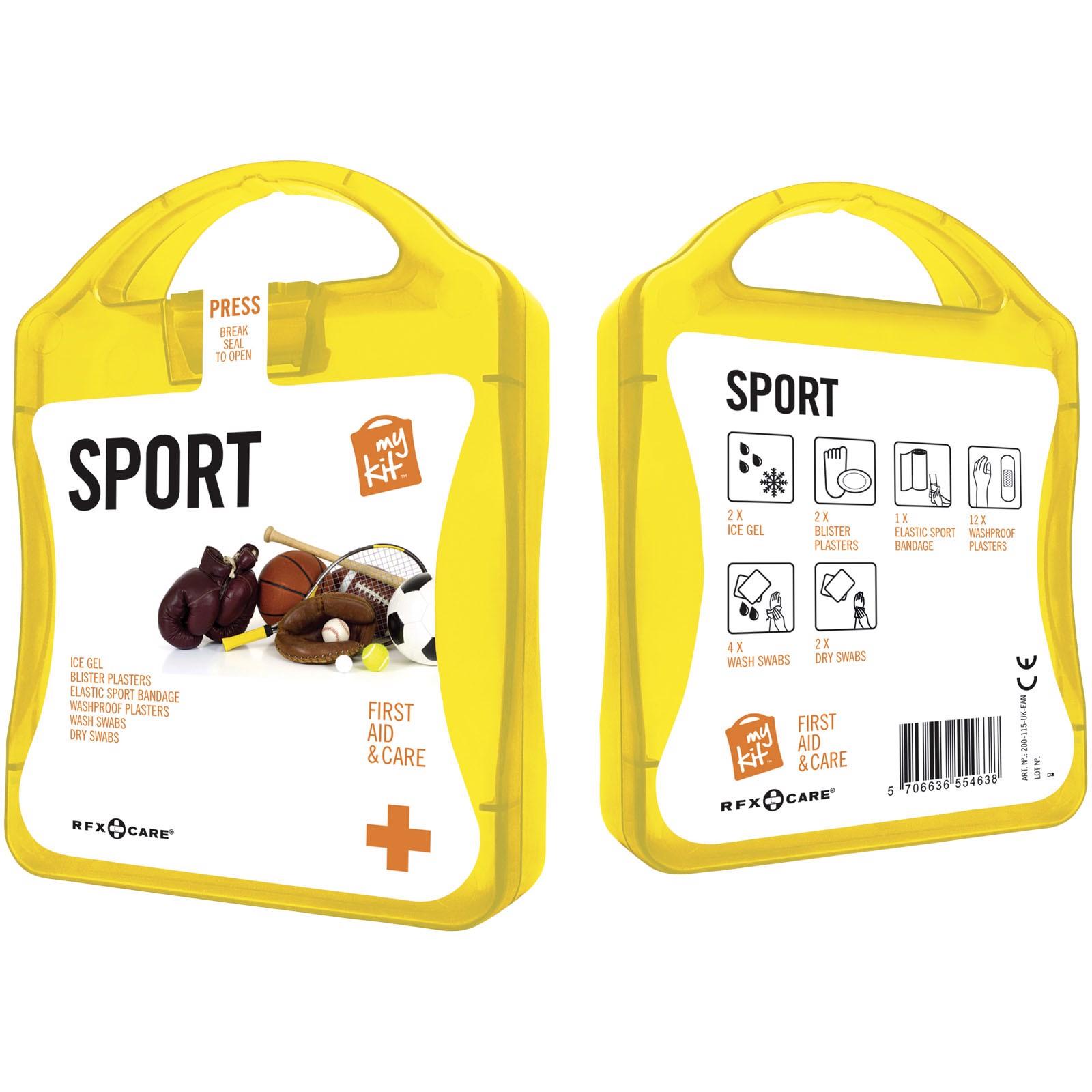 Lékarnička pro sportovce - Žlutá