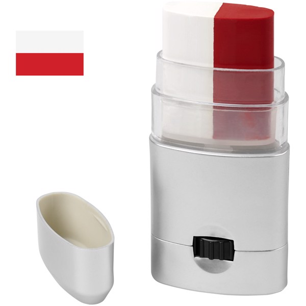 Velox body paint - White / Red