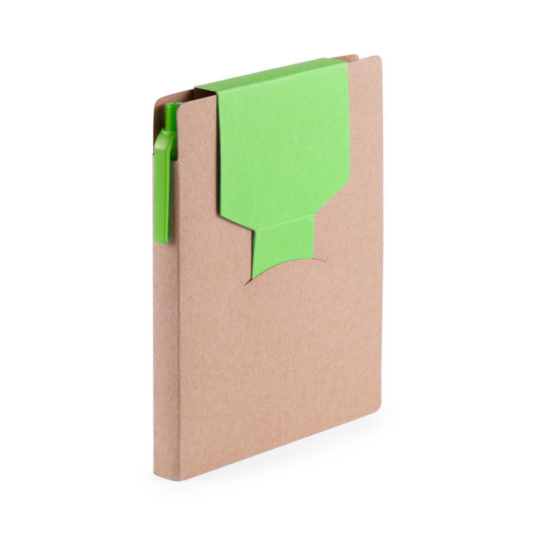 Bloc Notas Cravis - Verde Claro