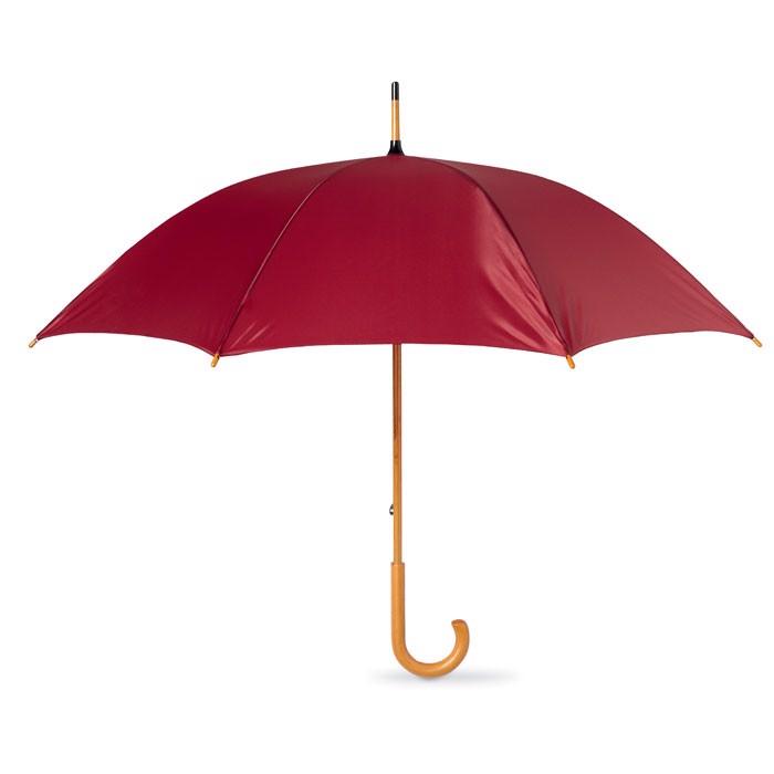 Regenschirm mit Holzgriff Cala - bordeaux