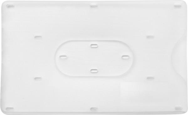 PP card holder - White