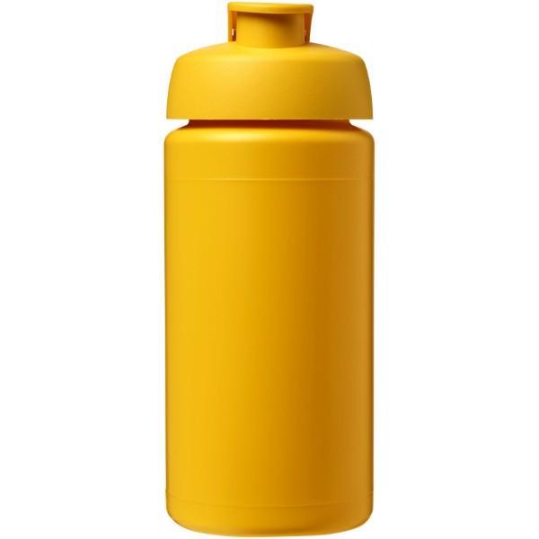 Sportovní láhev s vyklápěcím víčkem Baseline® Plus grip 500 ml - Žlutá