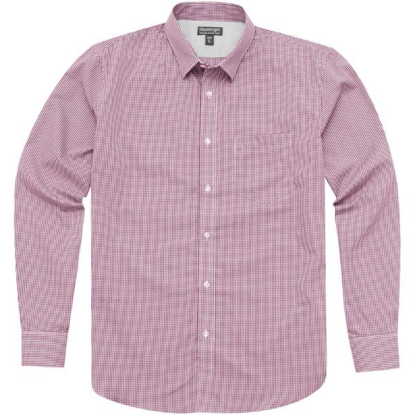 Košile Net s dlouhým rukávem - Červená s efektem námrazy / 3XL