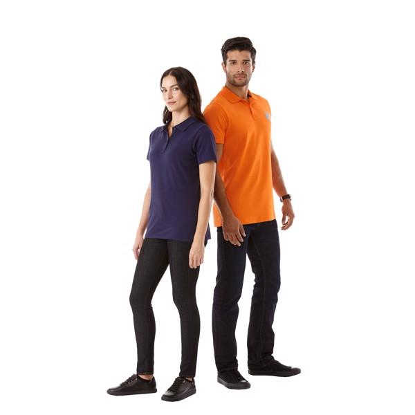 Primus short sleeve men's polo - Orange / L