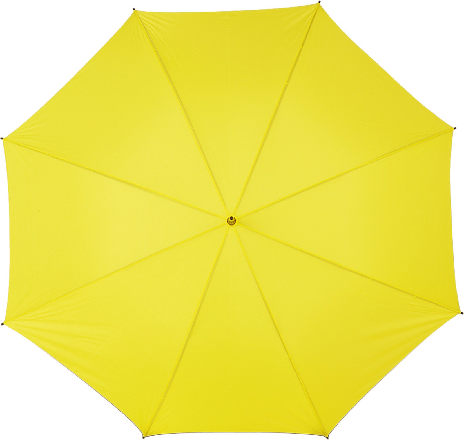 Polyester (210T) umbrella - Yellow