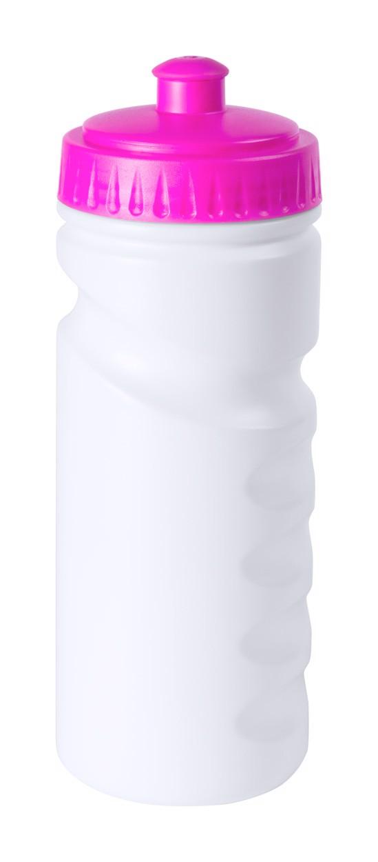 Sportovní Láhev Norok - Růžová / Bílá