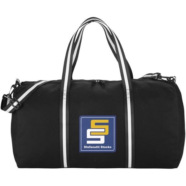 Cestovní plátěná taška Weekender - Černá