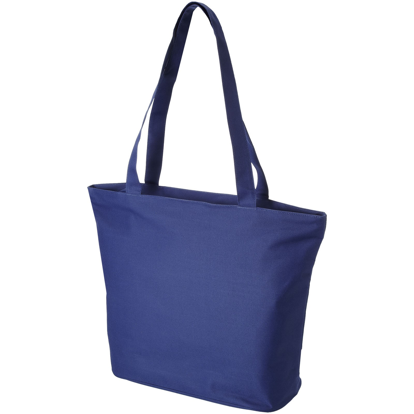 Panama zippered tote bag - Royal blue