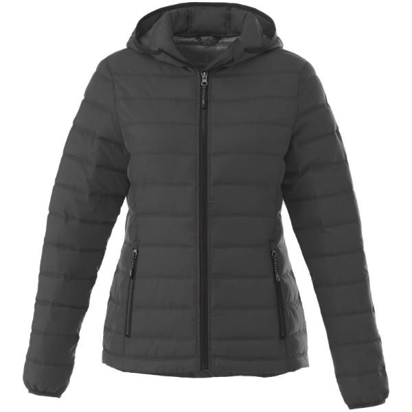 Dámská bunda s kapucí Norquay - Šedá ocel / XS