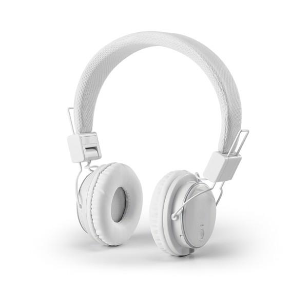 BARON. Skládací sluchátka - Bílá