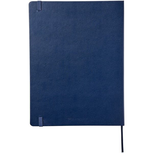 Classic XL hard cover notebook - squared - Sapphire blue