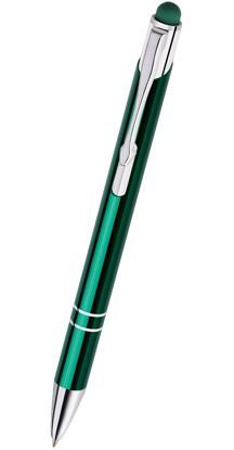 Dotyková kovová propiska COSMO TOUCH - Zelená 13