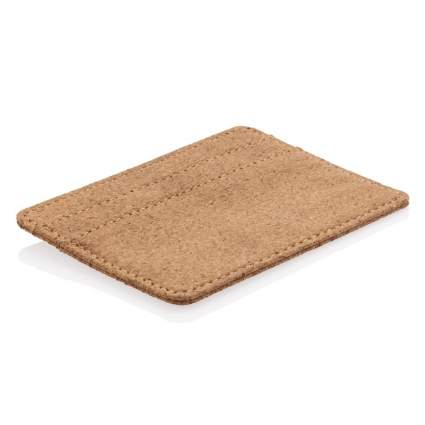 Cork secure RFID slim wallet