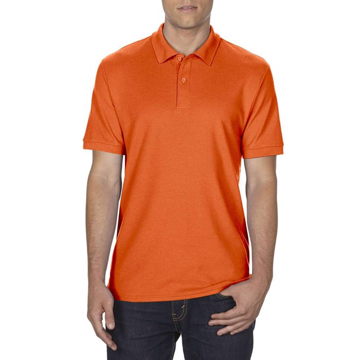 Men's Polo Shirt 207/220 g/m Dryblend Double Pique 75800 - Orange / L