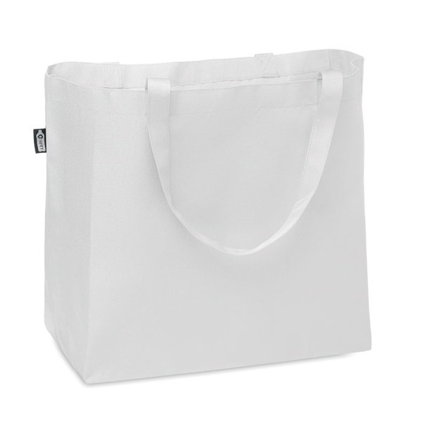 RPET Shopping or beach bag - White
