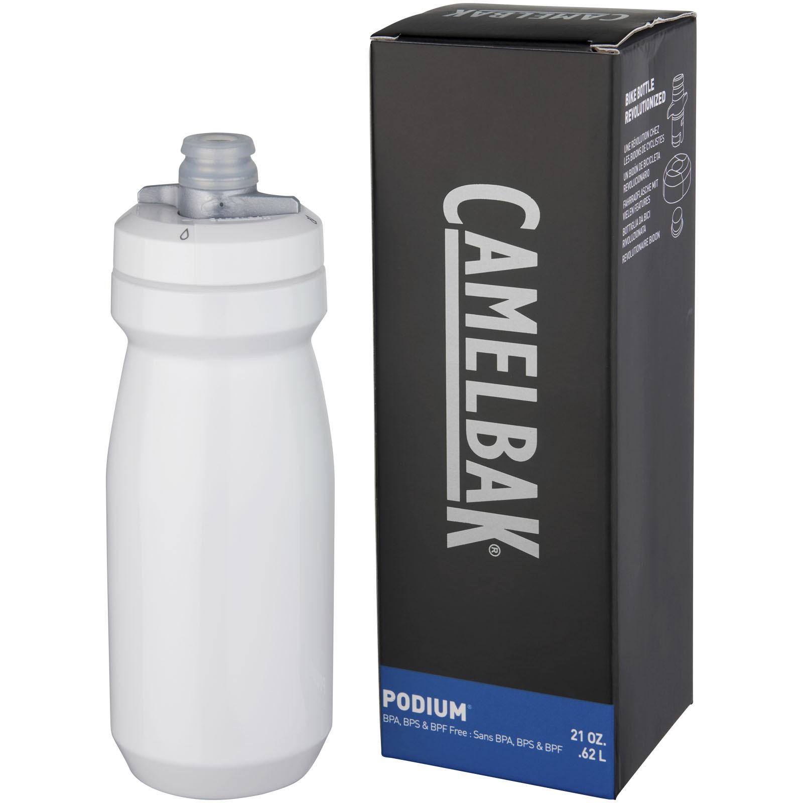 Sportovní láhev Podium 620 ml - Bílá