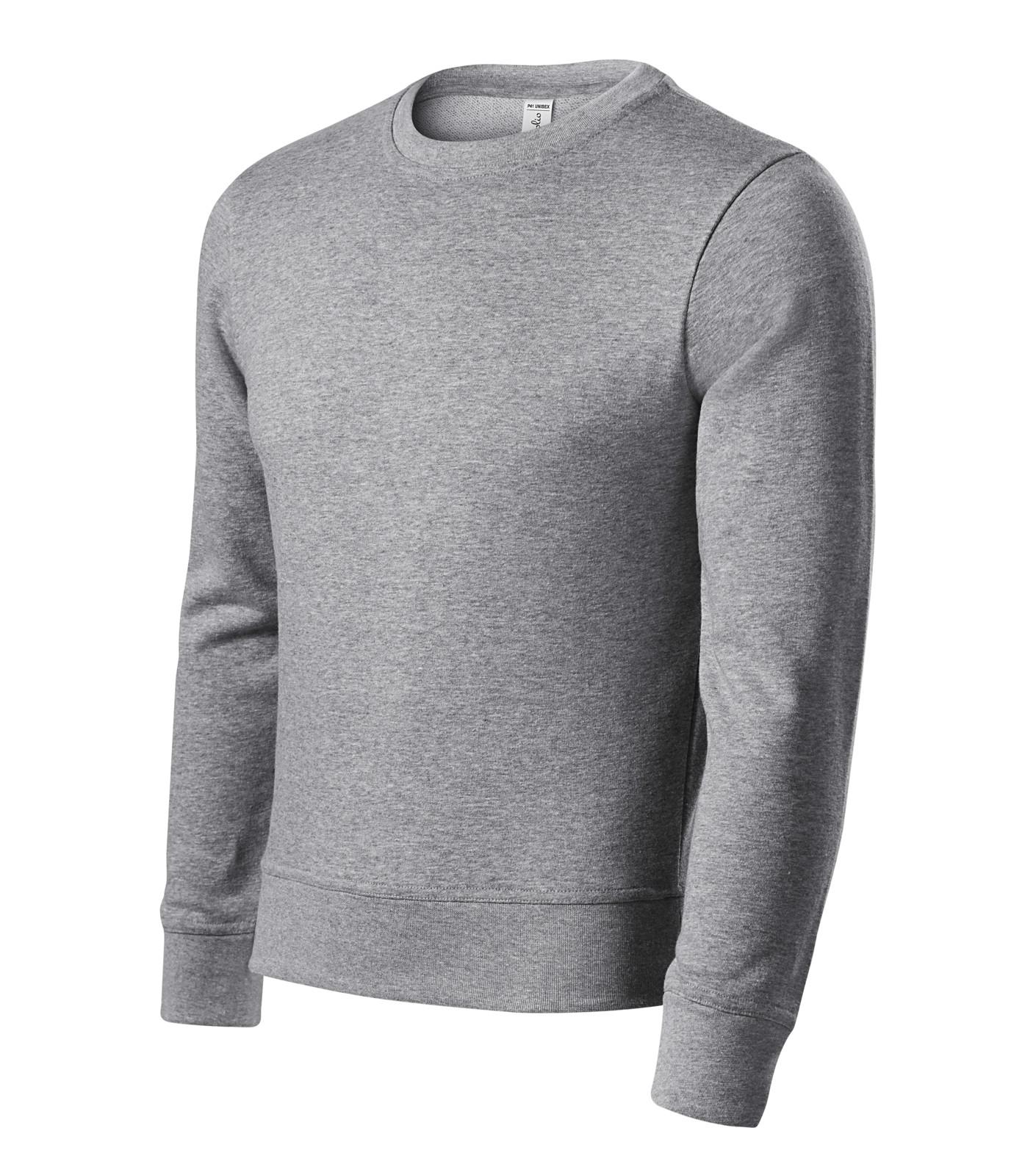 Sweatshirt unisex Piccolio Zero - Dark Gray Melange / 3XL