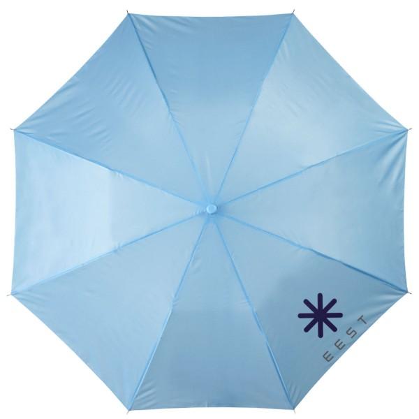 """20"""" skládací deštník Oho - Process Blue"""